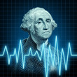 Health of the U.S. economy — Stock Photo
