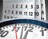 截止日期和日程安排 — 图库照片