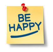 Sei glücklich — Stockfoto