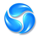 Water icon — Stock Photo