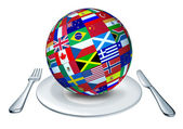 World cuisine — Stock Photo
