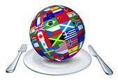 World cuisine — Stock Photo