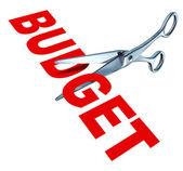 Budget cuts — Stock Photo