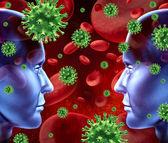Doença contagiosa — Foto Stock