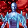 Stroke and heart attack warning signs - Stock Photo