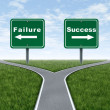 Success and failure — Stock Photo #7852036