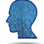 Постер, плакат: Human intelligence research symbol