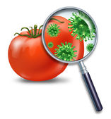 Lebensmittelsicherheit — Stockfoto