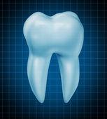 Healthy teeth symbol — Stock Photo