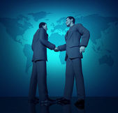 International business deal — Stock Photo