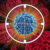 Tratamento do câncer — Foto Stock