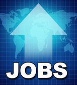 Employment and new jobs — Stock Photo