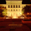 Royalty-Free Stock Photo: University of Szeged at night