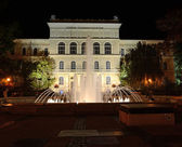 University of Szeged at night — Stock Photo