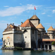 Chateau de Chillon (Castle of Chillon), Montreux, Switzerland — Stock Photo