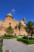Palermo Cathedral, Sicily — Stock Photo