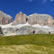 Sella massif in Dolomites mountains, Italy — Stock Photo