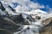 パステルツェ氷河およびグロースグロックナー山、オーストリアの最も高い山 — ストック写真