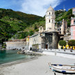 Vernazza village in the Cinque Terre, Italy — Stock Photo #7263709