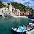Vernazza village in the Cinque Terre, Italy — Stock Photo