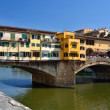 Ponte Vecchio, medieval landmark of Florence — Stock Photo #7263776