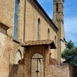 Saint Augustine church in San Gigmignano, Tuscany — Stock Photo