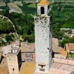 San Gimignano, town of beautiful towers, Tuscany — Stock Photo #7263878