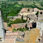 San Gimignano, town of beautiful towers, Tuscany — Stock Photo #7263897