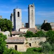 SGimignano, town of beautiful towers, Tuscany — Stockfoto #7263914