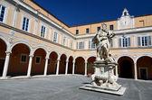 Archbishops Palace courtyard, Pisa, Italy — Stock Photo