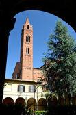 A igreja de st francis, pisa, itália — Foto Stock