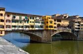 Ponte Vecchio, medieval landmark of Florence — Stock Photo