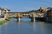 Ponte Vecchio, medieval landmark of Florence — Photo
