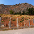 Delphi ancient site, Greece - Stockfoto