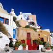 Oia village in island of Thira (Santorini - Cyclades), Greece — Stock Photo #7274502