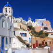 Oia village in island of Thira (Santorini - Cyclades), Greece — Stock Photo #7274504