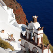 Traditional church in Santorini island, Greece — Stock Photo #7274527