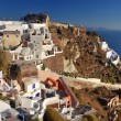 Oia village, Santorini, Greece — Stock Photo