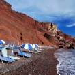 Red Beach, Santorini, Greece — Stock Photo