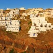Thira panorama, Santorini island — Stock Photo