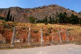 Delphi starożytnych site, grecja — Zdjęcie stockowe