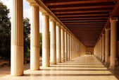 Stoa of Attalus at Athens — Stock Photo