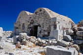 Agios Stefanos at Ancient Thira, Santorini — Stock Photo