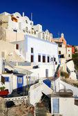 Oia village, Santorini, Greece — Stock Photo