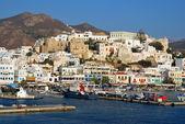 Naxos harbor, Greece — Stock Photo