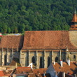 Black Church in Brasov, Transylvania, Romania — Lizenzfreies Foto