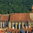 Black Church in Brasov, Transylvania, Romania — Photo