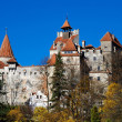 Bran Castle, landmark of Romania - Stock Photo
