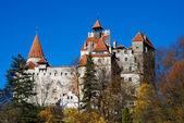 Castillo de bran, hito de rumania — Foto de Stock