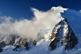 Mont Blanc du Tacul in Alps, France — Stock Photo